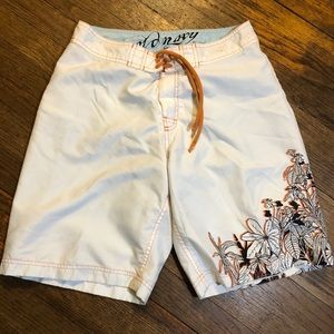 Old Navy board shorts size small